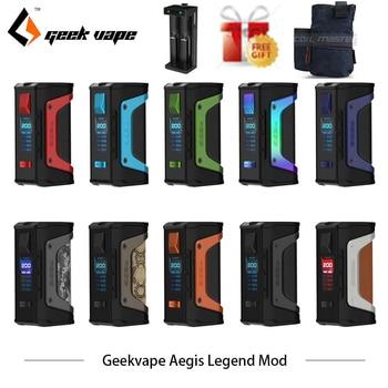 Original GeekVape Aegis Legend 200W TC Box MOD New AS chipset Powered by Dual 18650 batteries e cigs No Battery Aegis Legend MOD