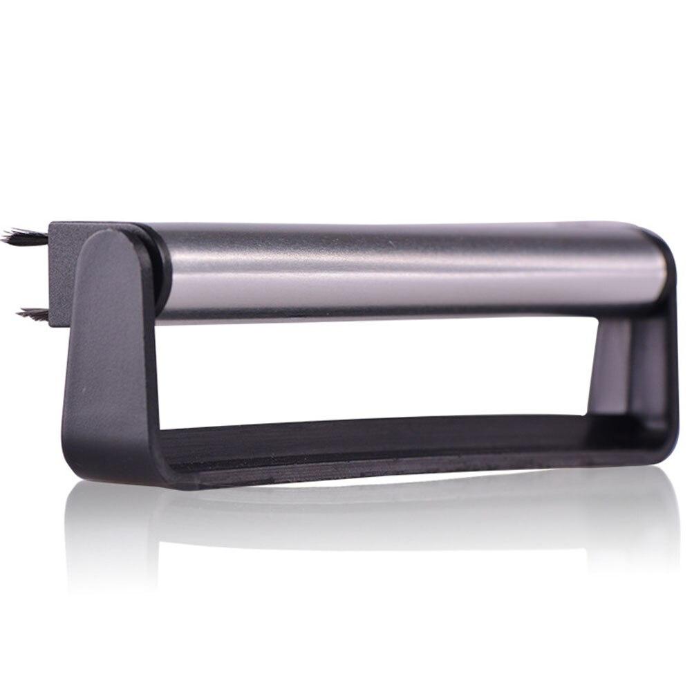Tragbares Audio & Video Plattenspieler Griff Schrubben Plattenspieler Schallplatte Pinsel Reinigung Werkzeug Audio Weichen Schwarz Pad Carbon Faser Anti Statische Phonographen Reiniger 100% Garantie