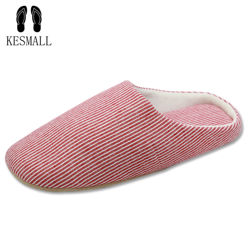 KESMAL Short Plush Winter Slipper Women Cotton Bedroom House Home Floor Soft Velvet Indoor Slippers Girl Ladies Flat Shoes WS343 цена и фото
