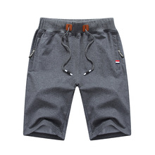 2019 New  Summer Casual Shorts Men  Shorts Trunks Fitness Workout Beach Shorts Man Breathable Cotton Gym Short Trousers M-4XL