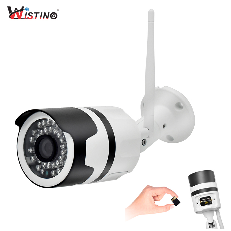 Wistino CCTV 960P Wifi IP Camera Outdoor Waterproof 720P Security Camera Street Bullet Wireless Surveillance Camera Night Vision wistino cctv camera housing outdoor use abs plastic bullet casing for ip camera hot sale cover case surveillance
