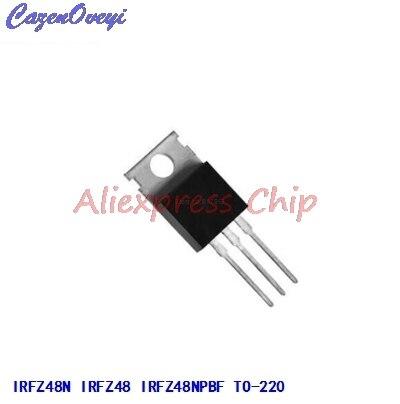 1 шт. /лот IRFZ48N TO220 IRFZ48NPBF-220 IRFZ48 Новый и оригинальный IC, хорошее качество, в наличии