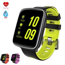 GV68 Moniteur de Fréquence Cardiaque Montre Smart Watch IP68 Étanche Sport Bluetooth Smartwatch De Natation avec Remplaçable Sangles pour IOS Android