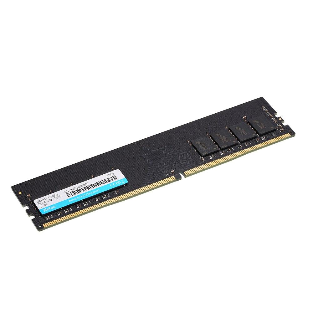 Netac DDR4 Оперативная память памяти 4 ГБ/8 ГБ 2400 мГц MT/s 1,2 В PC4-19200 UDIMM 288- pin ddr4 memoria Оперативная память для настольных ПК игровой Оперативная память ... ...