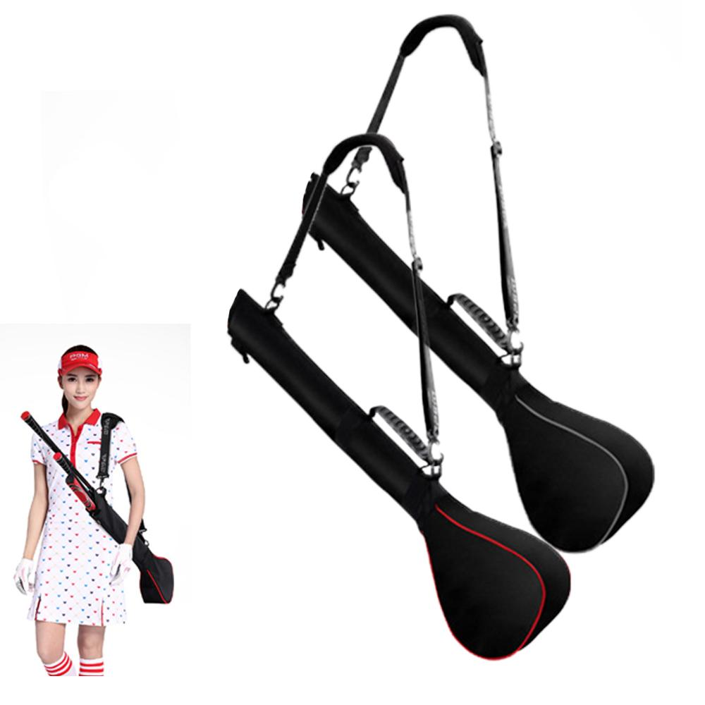 Foldable Golf Gun Bag Capacity 3 Club Mini Soft  Bag Men And Women Shoulder Club Bag