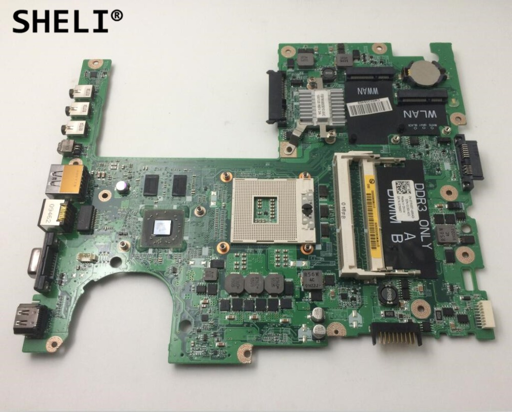 SHELI CN-0CGY2Y 0CGY2Y CGY2Y For <font><b>Dell</b></font> 15 <font><b>1558</b></font> Motherboard with HD5470 Video Card image