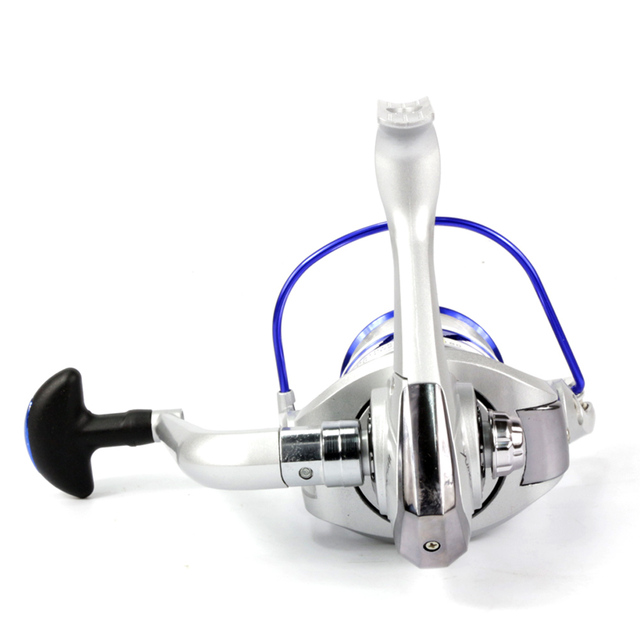 AL1000-7000 Series Spinning Fishing Reel 12BB Aluminum Spool Ratio 5.5:1 Fishing Wheel  Carp fishing reels Pesca