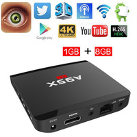 A95X R1 Android Smart TV Box 1GB 8GB Quad Core HDMI HD 4Kx2K Full Loaded Media