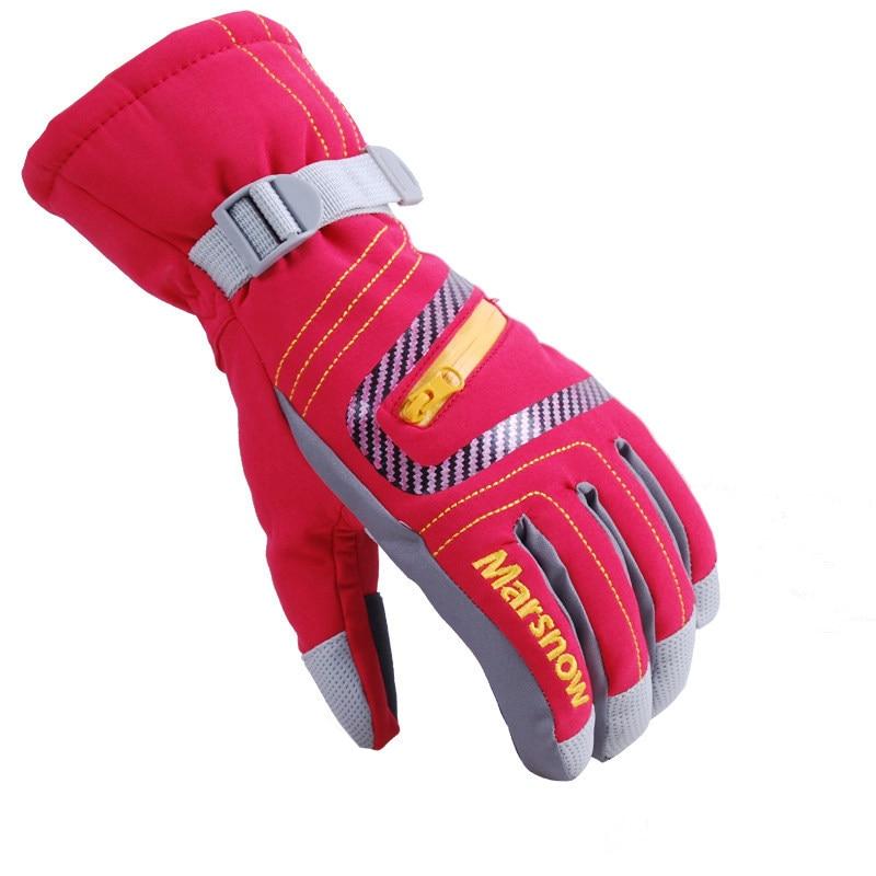 DICHSKI, водонепроницаемые зимние теплые перчатки, мужские лыжные перчатки, перчатки для сноуборда, мотоциклетные перчатки для верховой езды, ...