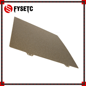 310x310мм с порошковым покрытием PEI строительный лист двухсторонний текстурированный PEI пружинный стальной лист для CR10 CR-10S CR10S 3D принтера