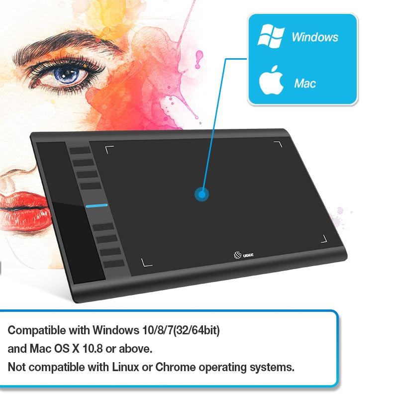 US $44 75 38% OFF Ugee Digital Graphics Tablets M708 V2