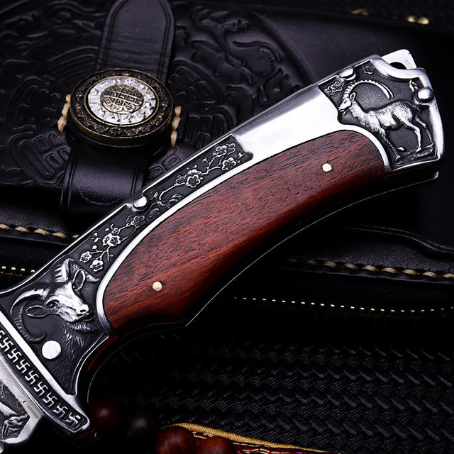 2018 New Free Shipping Outdoor Fixed Tactical Folding Knife Self-defense Wilderness Survival Camping Hunting Knives EDC Tools