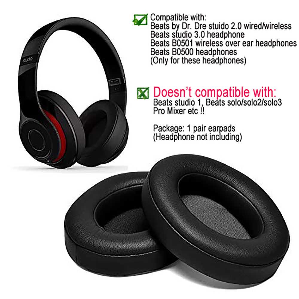Black Replacment Ear Pads Ear Cushions Care Headset Earpad For Beats By Dr Dre Studio 2 0 Studio 3 B0500 B0501 On Ear Headphones Ear Cushion Earpad Headphones Ear Padsear Pads Aliexpress