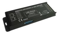 Free Shipping RGBW DMX Decoder Driver Constant Current 700mA 4 Channels 12V 48V 64W Pn DE8052