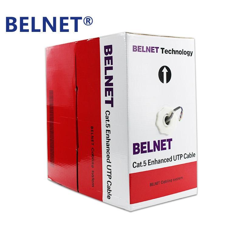 BELNET 305m 1000ft CAT5E UTP RJ45 Cable de red Ethernet Cable LAN - Cables de computadora y conectores - foto 1