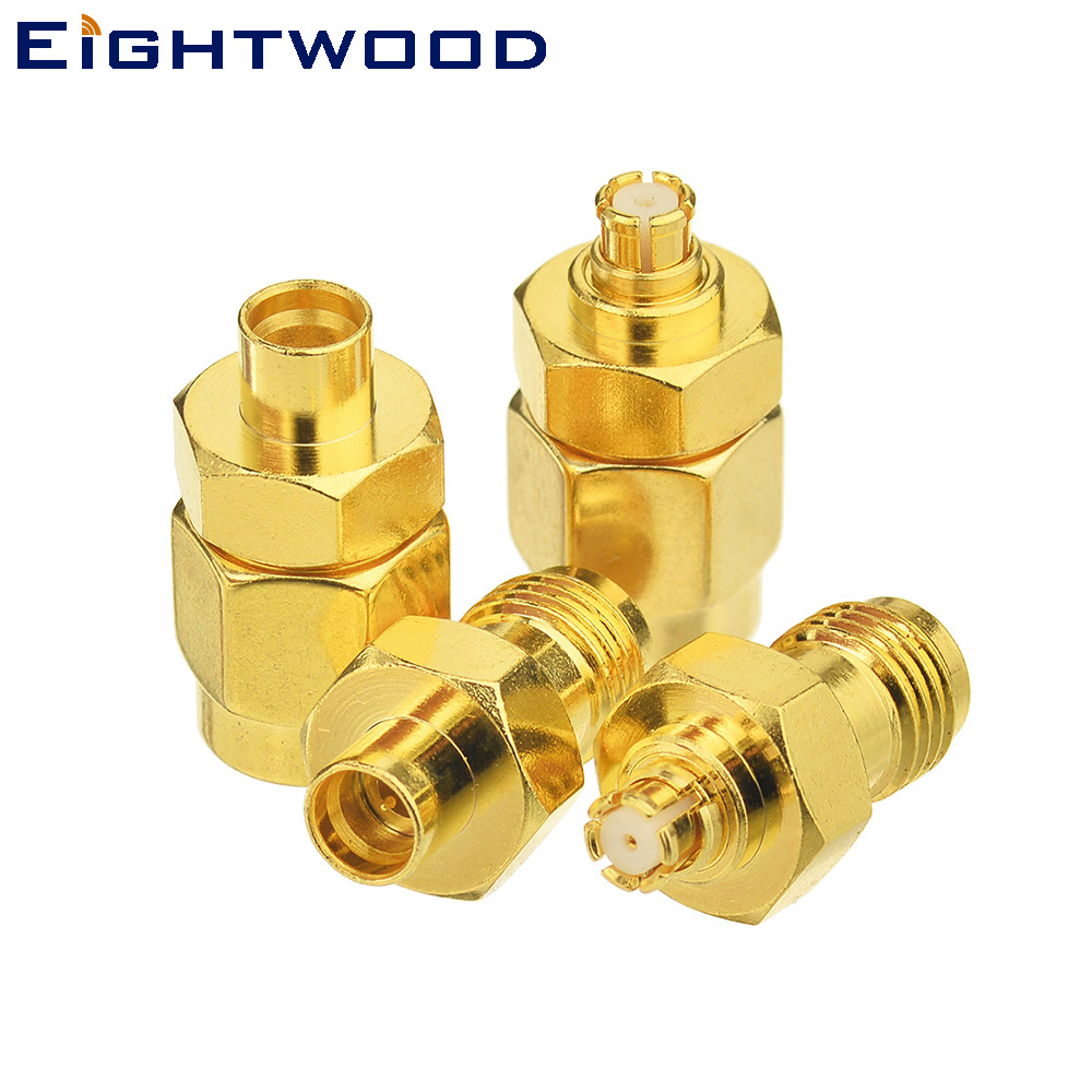 Eightwood RF Coaxial Adapter KIT SMA 50Ohm 4 Type