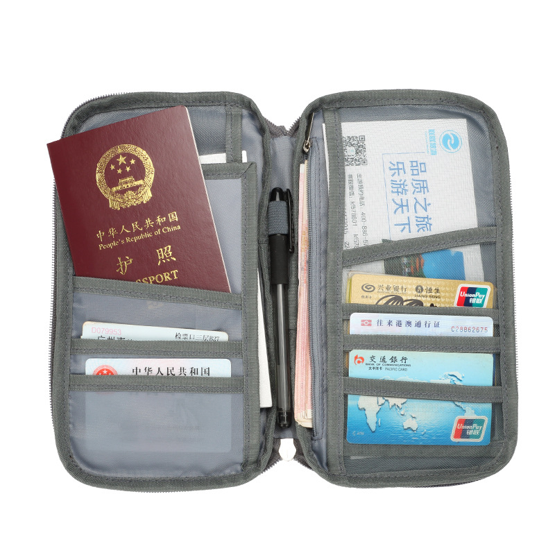passport cover ID Business Card Holder Travel Credit Wallet for Men Purse Case Rfid Driving License Bag New popular passport bag men s purse long genuine leather clutch wallet travel passport holder id card bag fashion male phone business handbag
