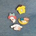 Новинка, булавка для мультяшной собаки/кролика/кота/Луны/ребенка, металлическая брошь с эмалью, значок на пуговицах, джинсовая декоративная...