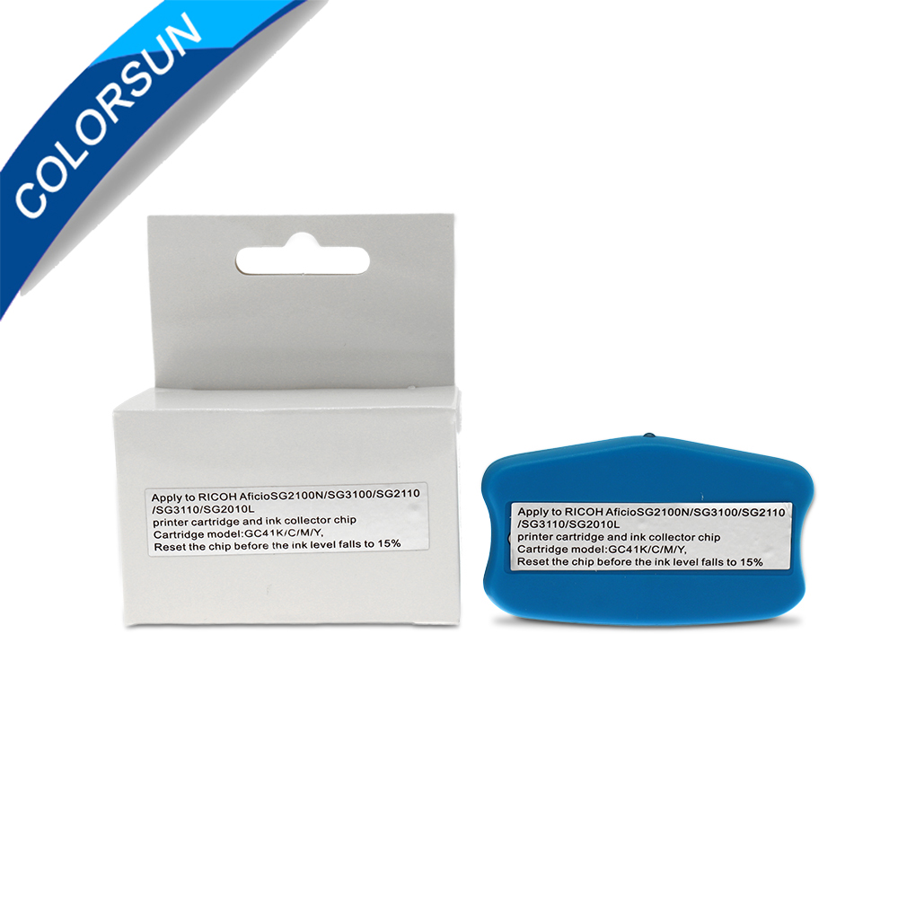 Për Ricoh GC41 Riparues çipash për Fishekë Ricoh SG3100 SG2100 - Elektronikë për zyrën - Foto 1