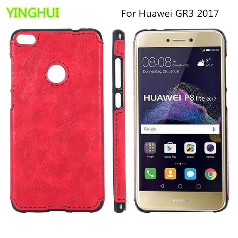 Nový TPU soft shell Huawei GR3 2017 Case Cortical sense Silikon Soft - Příslušenství a náhradní díly pro mobilní telefony