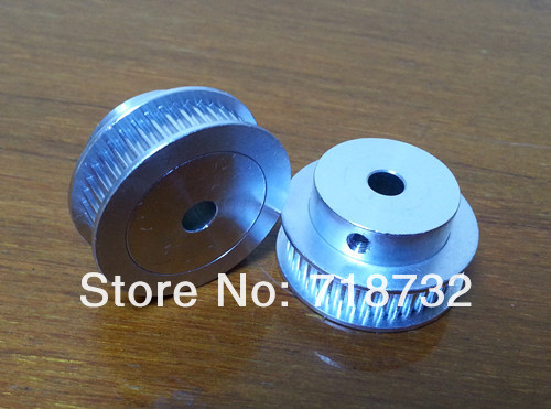 <font><b>HTD5M</b></font> timing belt pulley 20 tooth 25mm width 6.35mm bore with aluminum 4pcs image