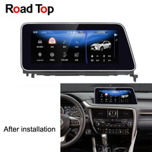 10.25 inch Display Android Car Radio WiFi GPS Navigation Bluetooth Head Unit Touch Screen for Lexus RX 2016-2018 200t 350 450h