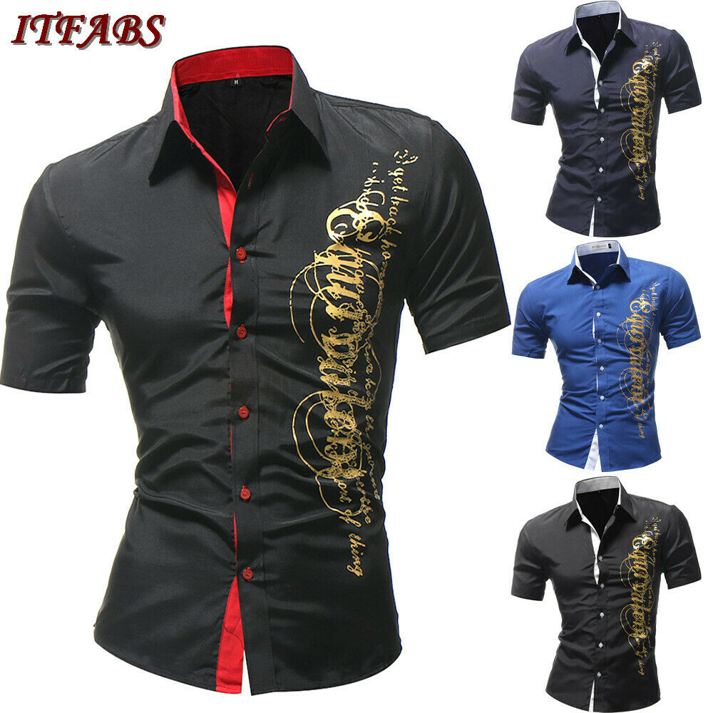 Aliexpress.com : Buy Luxury Men's Button Casual Shirts ...