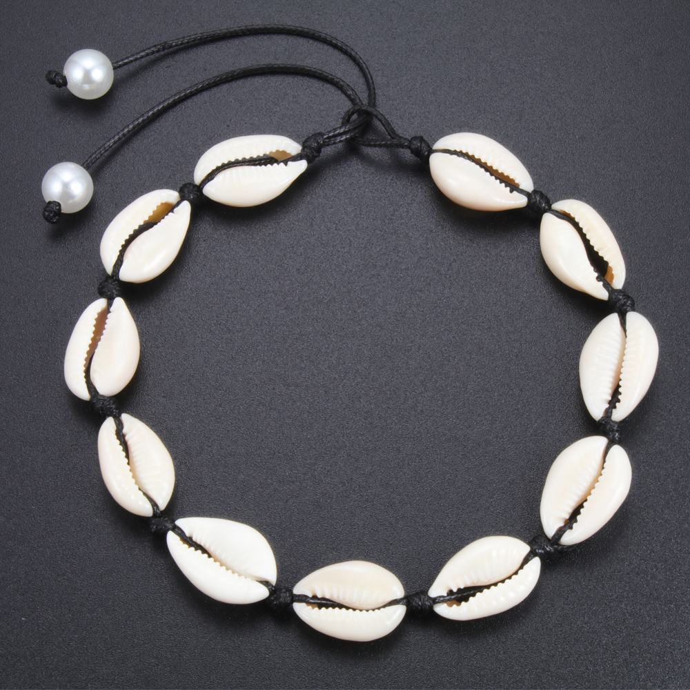 Hot Offer D06a Fashion Bohemia Women Shells Necklaces Choker