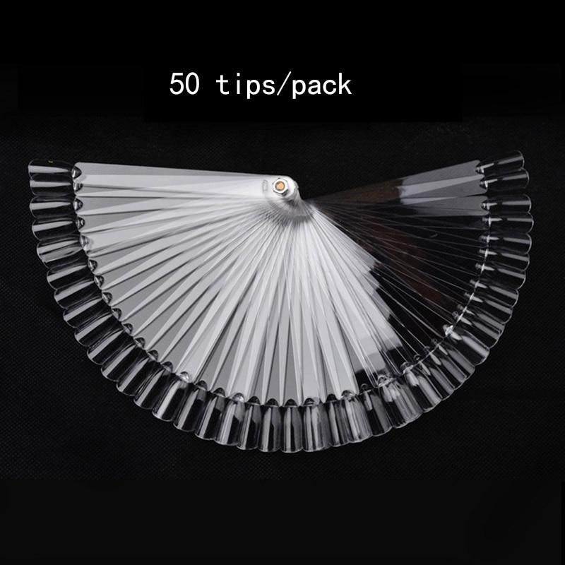 Screw Transparent 50 Tips