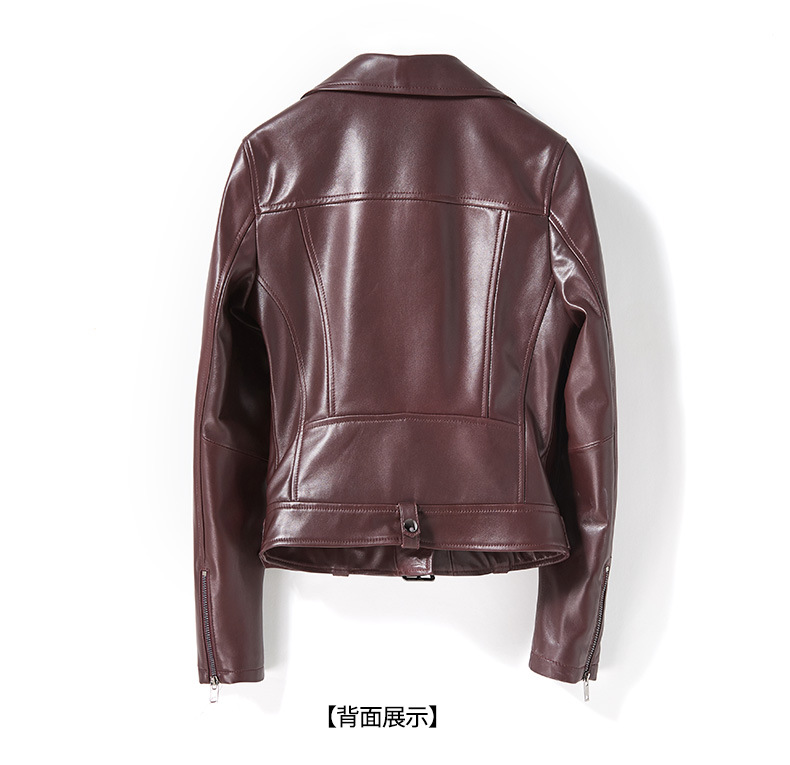 Natural piel abrigo Shuchan chaqueta de femenina genuino cuero 2018 wPa4q8