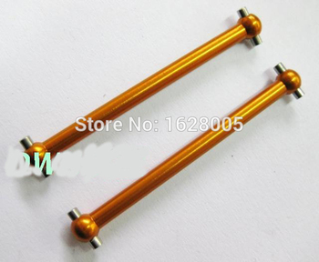 Four colors 2Pairs/4pcs WLtoys A959 A969 A979 Upgrade Parts F/R Dogbone 46mm A959-07 For RC HSP 1:18 Model Car image