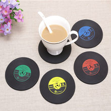 CD Catatan Bentuk Dapur Pesta Bar Mat Mat Tatakan Coaster Silikon Dapur Gadget Accessories Piala Mat # Ialah(China)