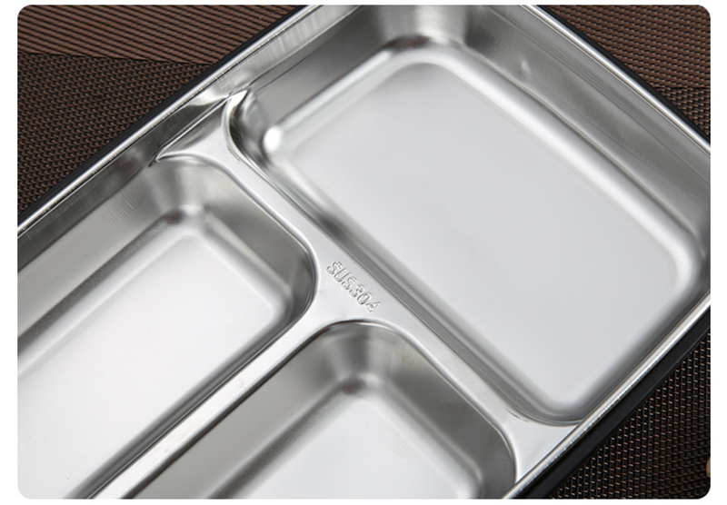 cheap bento boxes TUUTH Stainless Steel Lunch Box Large-capacity Microwave Heating Portable Dinne Food Containers For Picnic Office School B10