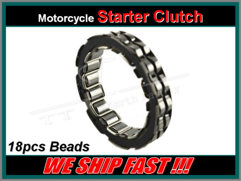 ФОТО Free Shipping Big Roller Reinforced One Way Bearing Starter Spraq Clutch For Suzuki Hayabusa GSX 1300 R Overrunning Clutch Beads
