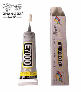 E7000 Glue 50ml Multi purpose E6000 upgrade Jewelery Adhesive Diy Jewelry Crafts Glass Touch Screen Cell Phone Repair Stronger