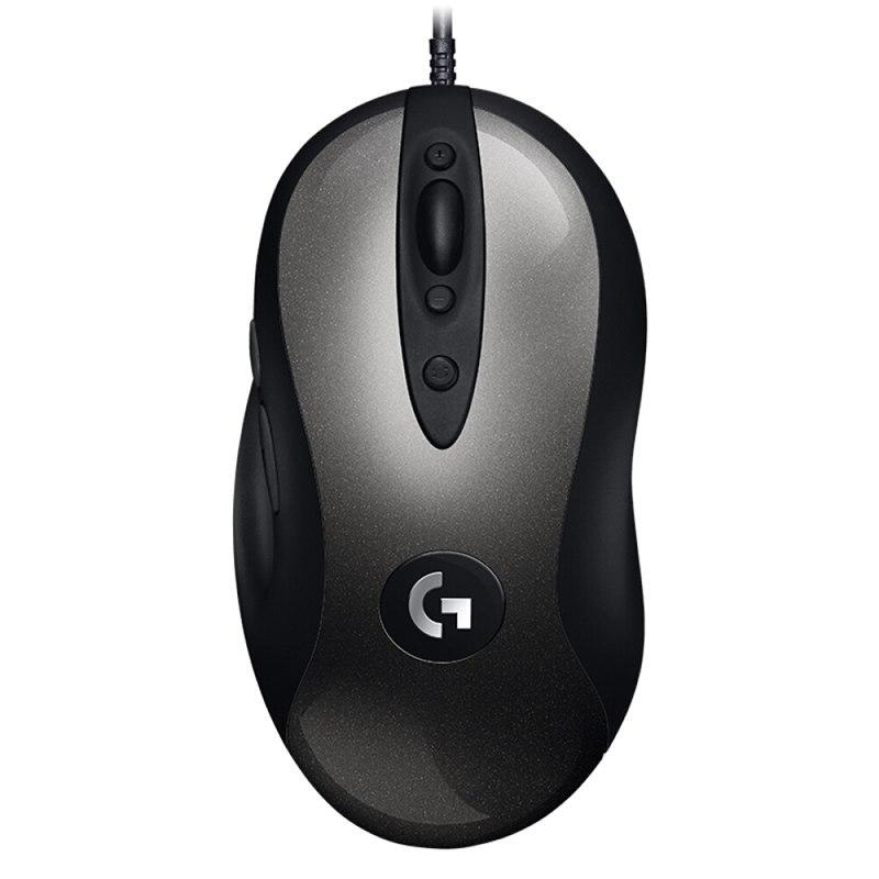 2018 Nuovo Logitech MX518 Classico Mouse Da Gioco versione Aggiornata MX500/MX510/MX518 16000 dpi presa Comoda