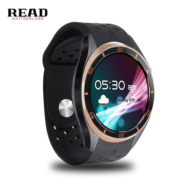 READ A5 Dial Call Quad Core 512MB 8GB RAM Heart Rate Monitor Smart Watch For