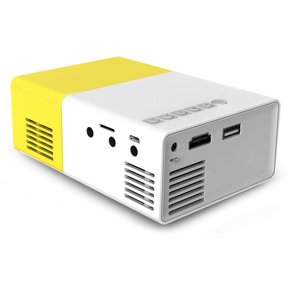 Yg310 Lcd Projector 600lm 320 X 240 1080p Mini Portable Hd