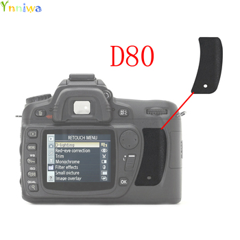 1-10pcs For Nikon D80 The Thumb Rubber Back cover Rubber DSLR Camera Replacement Unit Repair Part image