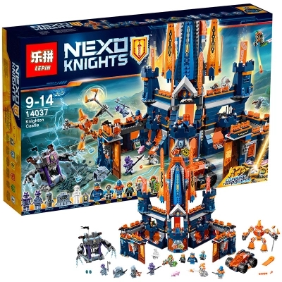 Compatible with lego 70357 nexoe Knights Knighton Castle 1295pcs Knighton Castle Figure building blocks bricks toys for children 10706 bela 1468pcs nexo knights knighton castle model building blocks enlighten figure toys children compatible legoings nexus