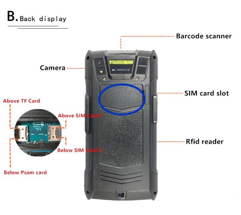 6.0 tela de toque terminal da posição