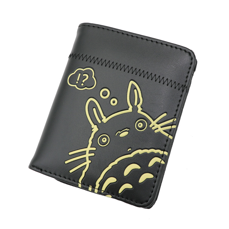 Anime Tonari No Totoro Zipper Purse More Than 10 Types My Neighbor Totoro Black Wallets To Choose For Collection Or Cosplay