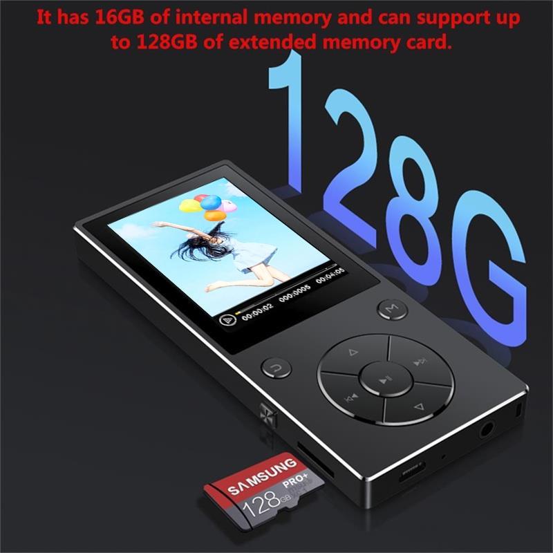 Купить Bluetooth4.0 MP3 музыкальный плеер 16 ГБ Встроенный ...