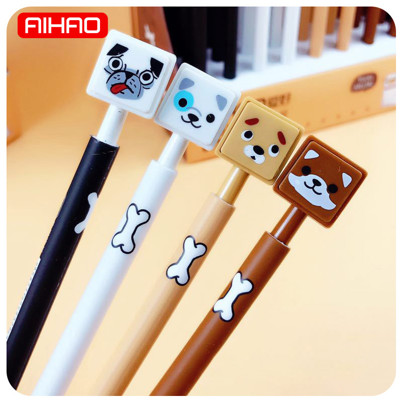 AIHAO Student Cute Kawaii Dog Mechanical Pencil Professional Plastic Automatic Pencils For Writing School Supplies 934 new arrival deli sweet house children pencil sharpeners 0724 cute cartoon students mechanical pencils writing supplies blue