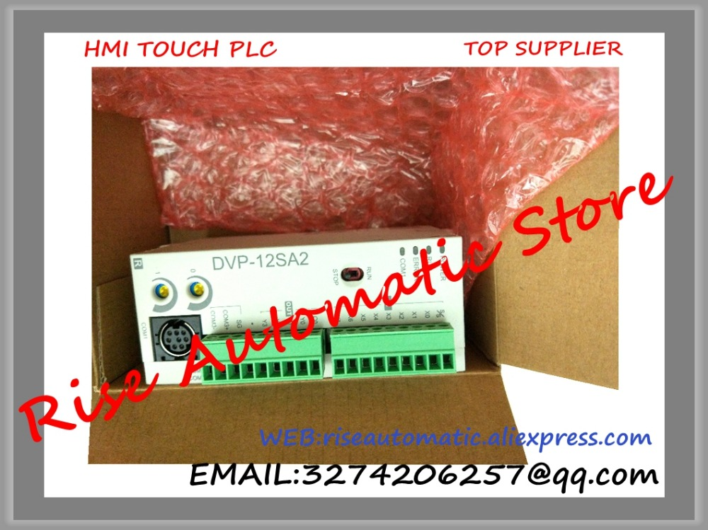 New Original Programmable Controller PLC Module DC24V 8 DI 4 DO relay DVP12SA211R new original programmable controller digital plc module di 4 do 4 transistor output dvp08xp211t