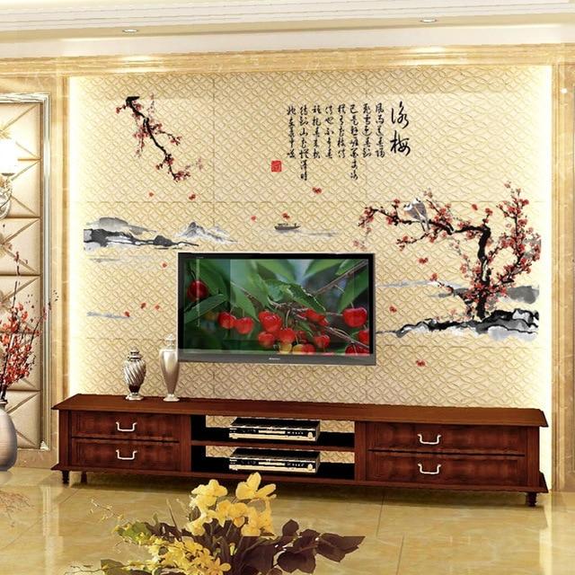 Aliexpress Com Buy Yongmei Ink Painting Living Room Bedroom