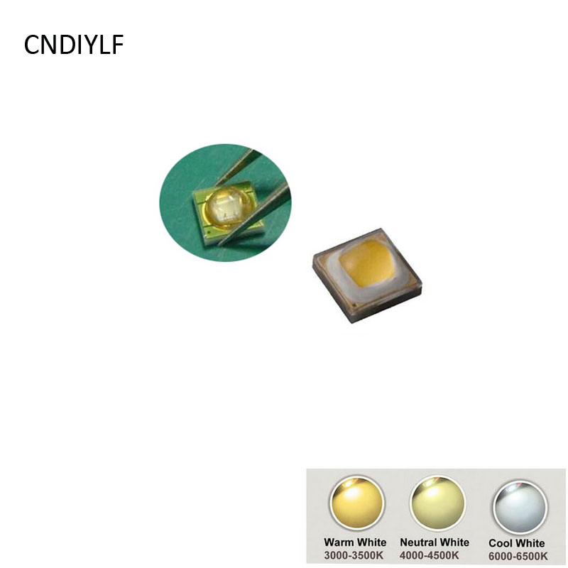 Original Hongli & Samsung 3535 3W LED Diode 3V 700ma 3000K 4000K 6000K Fast Shipping Via Aliexpress Standard Air Mail