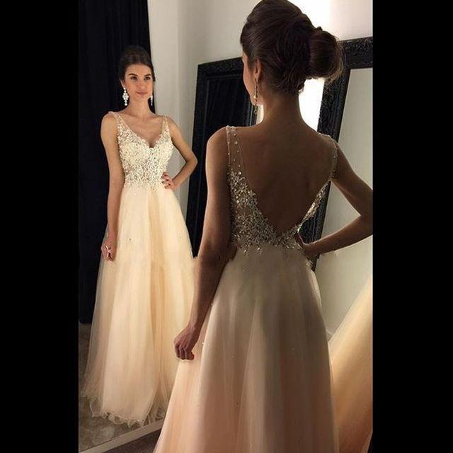 76d7aa246 Con cuentas apliques de encaje largo hermosa plus tamaño vestidos de baile  2017 fiesta formal dress