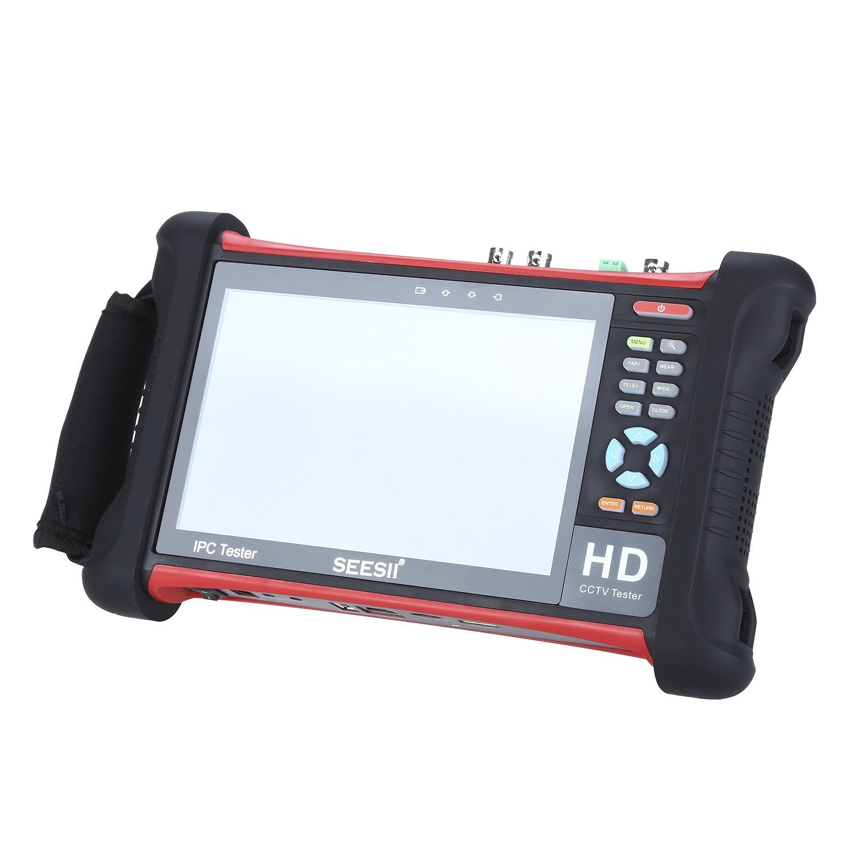 SEESII 7 4K 1080P IPC Camera CCTV Retina Touch Screen Tester Monitor Wifi TVI CVI AHD SDI CVBS IP Discovery Analog 1920x1200