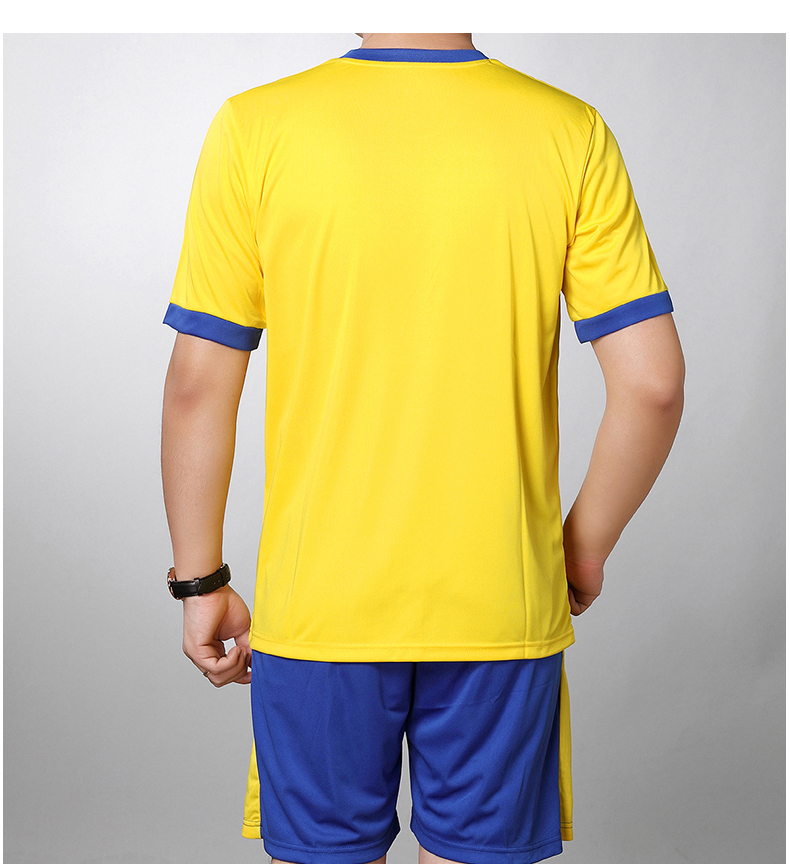 Man Tracksuit Summer Bright Color Two Piecs Short Pant Suit Set Male Casual Tshirt And Shorts Sets mens Tracksuits Yellow Orange Red Twinset (6)